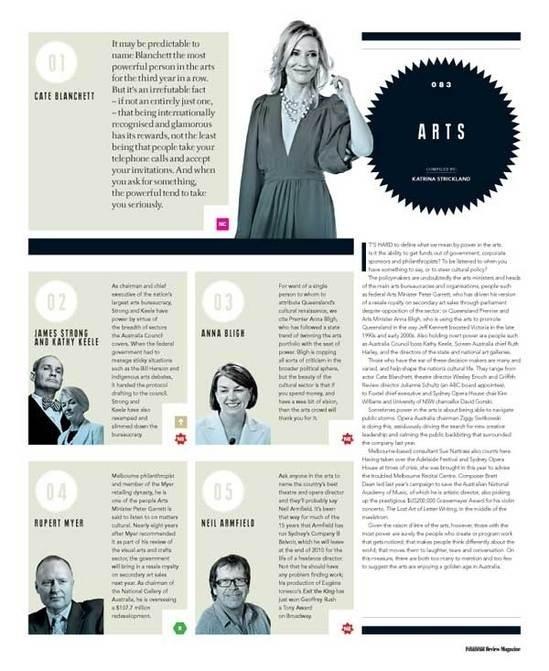 Australian Financial Review: Power List Grids SPD.ORG Grids #magazine