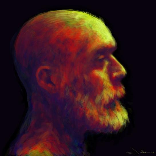 Face #wacom #intuos #tablet #digital #illustration #photoshop #painting