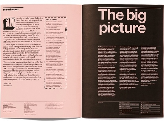 Purpose » Design Council – Industry Insights Supplement #purpose #design #graphic #layout #editorial