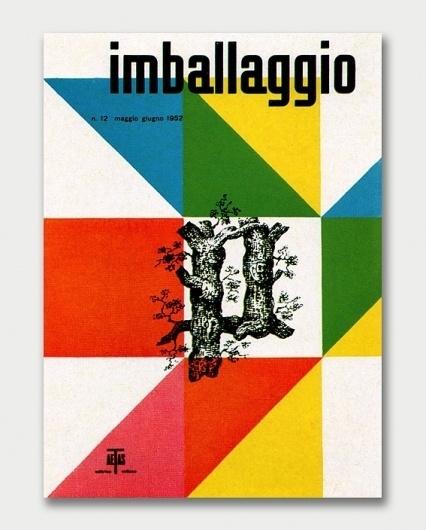 Max Huber – Mid-Century Advertising / Aqua-Velvet #retro #cover #imballaggio #colour #magazine