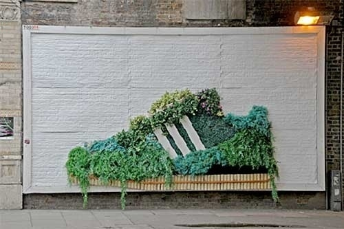 Adidas goes green? - BOOOOOOOM! - CREATE * INSPIRE * COMMUNITY * ART * DESIGN * MUSIC * FILM * PHOTO * PROJECTS #advertising