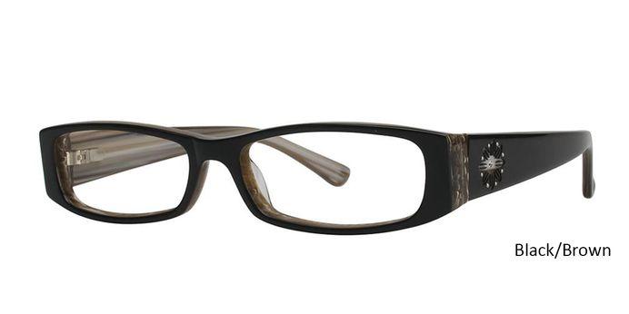 Black/Brown Vivid Boutique Petite 6003