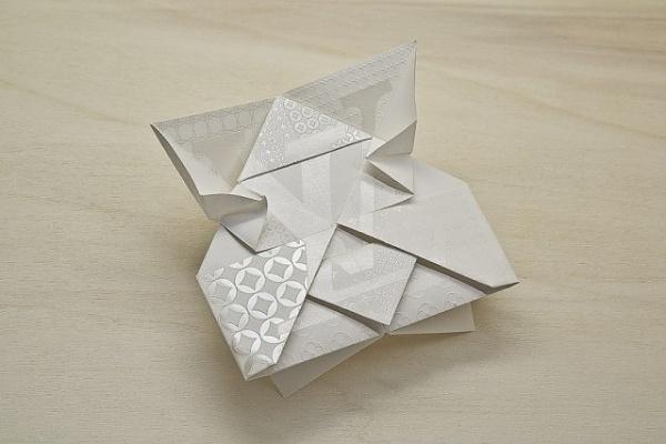 Louis Vuitton Invitation Origami – Fubiz™ #print