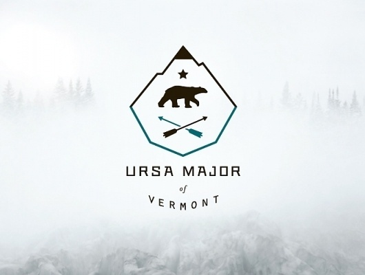UM_of_Vermont #mountain #major #ptarmak #identity #ursa #logo
