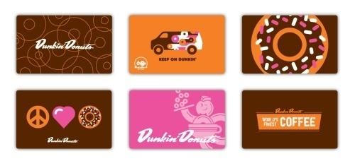 Matt Stevens // Creative Direction + Design - WORK BLOG - Daydream rebrand: DunkinDonuts #gift #illustration #cards #donuts