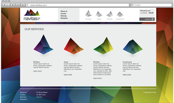 Branding agency award winning design interiors architect brand London #mountain #branding #color #multi #website #pitch #identity