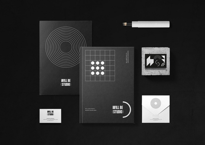 Will Be Studio - Mindsparkle Mag Bisoñ studio designed the branding for Will Be Studio – an architecture and visualisation studio from Poland. #logo #packaging #identity #branding #design #color #photography #graphic #design #gallery #blog #project #mindsparkle #mag #beautiful #portfolio #designer