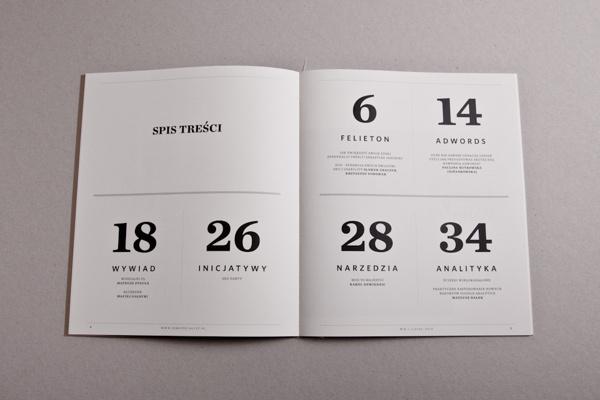 SEM SPECIALIST Magazine on Behance #layout #book #typography