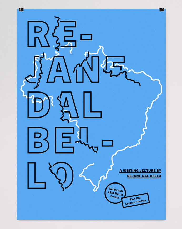 BSA&D Lecture Series - Alex Lewis: Graphic Design #poster #print