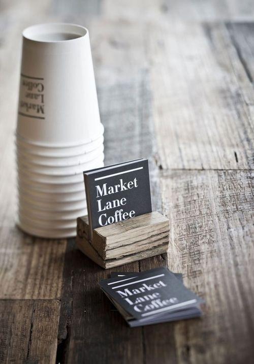 Market Lane Coffee, beautifully designed stationery. #design #graphic #brand #photography #identity #coffee