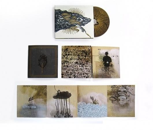 Brian Danaher ::: Design / Rabbit Children CD Package #music #packaging #letterpress #cd