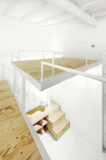 Making A Loft That's Just 366 Square Feet Feel Big | Co.Design #loft #interiors