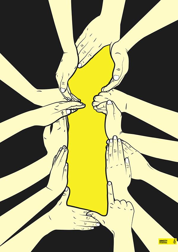 Amnesty International 50th Anniversary Poster Comp