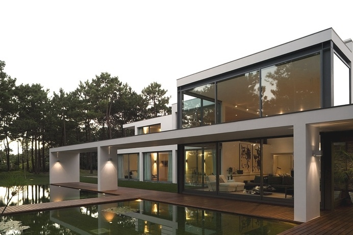 Exciting Residential Project Underlining Serenity: Casa Do Lago in Portugal #architecture #portugal