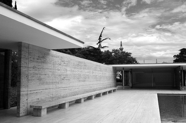 Barcelona Pavilion. Ludwig Mies van der Rohe #less #more #van #der #minimalism #is #rohe #architecture #mies #barcelona