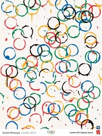 London 2012 Olympics-Rachel Whiteread-LOndOn 2012 - Planscher av Whiteread Rachel på AllPosters.se #olympics #poster
