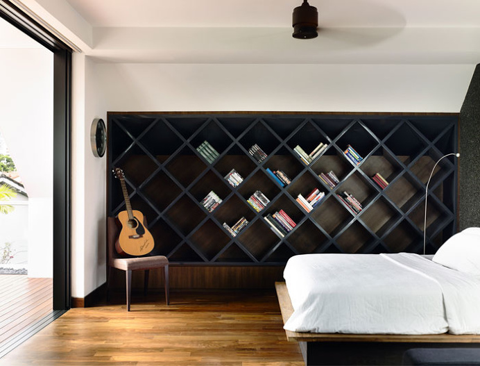 Semi-Detached House in Singapore - #bedroom, #interior, #decor, home, bedroom