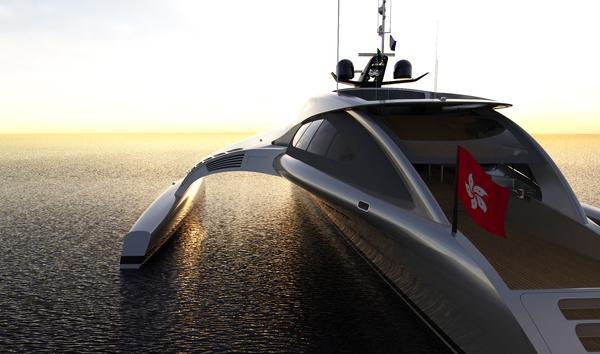 Adastra super yacht on sunset #super #adastra #yacht #modern