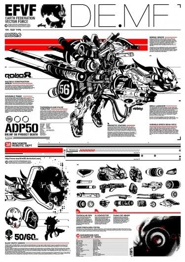 DIE.MF by ~machine56 #vector #machine56 #robot