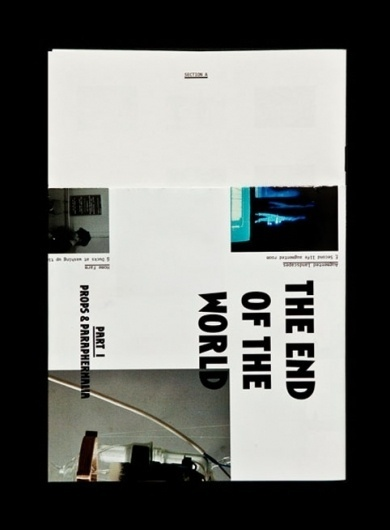 ghazaalvojdani.com - The End of the World #grid #print #typography