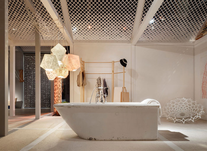 Home of the Future Installation at the imm Cologne