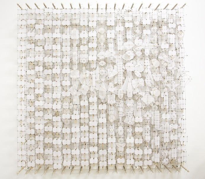 "The Peaceful Depths of Ceaseless Multiplication, 2014. 72"" x 72"" x 8"" #art"