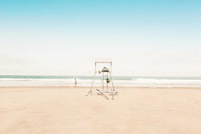 Summer Beach: Minimalist Landscape Photography by Ludwig Favre