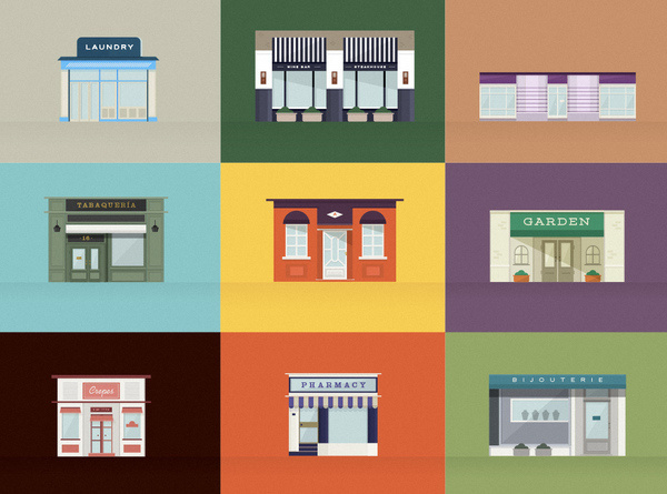 Stores2 #illustration
