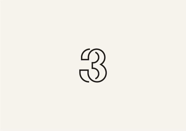Typographic-Logos-21 #type #number #treatment #typography