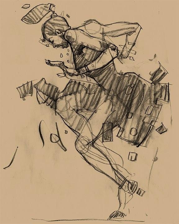 Harlem Swing Dance Studies by Martin French #inspiration #illustration #drawing