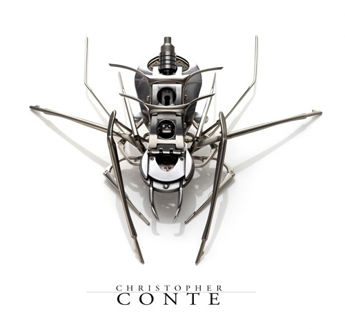 The Sculpture of Christopher Conte #recycled #sculpture #art #microrobotic