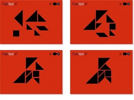 Work: FadFest_web   Astrid Stavro #grid #geometrical #poster