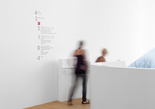 Vitra – VitraHaus 2009 | Retail | Graphic Thought Facility #interior #signage #typography