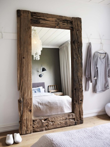 The Design Chaser: Interior Styling | Oversized Mirrors #interior #mirror #design