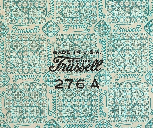 Trussell.jpg 600×503 pixels #logo #print #pattern