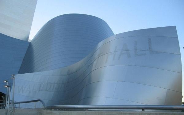 Walt Disney Concert Hall #architecture #typography