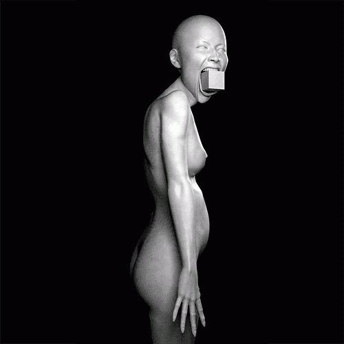 tumblr_lytlnfol3x1r5n0l8o1_500.gif (GIF Image, 500×500 pixels) #woman #gif #cube