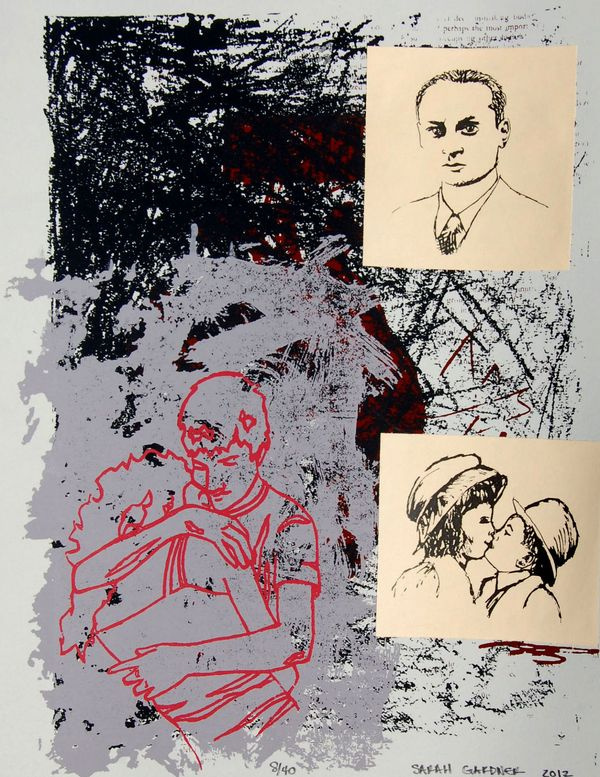 False Connections by Sarah Gardner #silkscreen #printmaking #print #design #screenprint #illustration #art