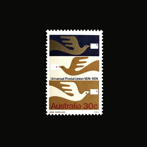 Item 230: Universal Postal Union stamp #stamp #illustration