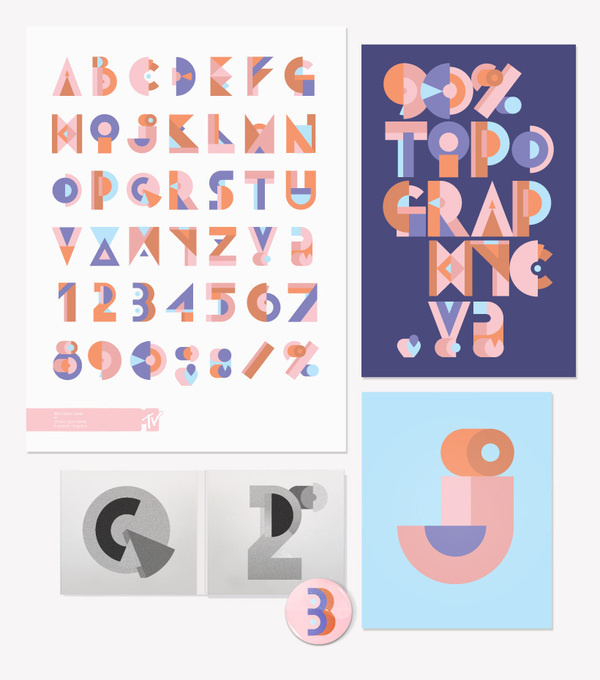 MTV | Style Guide #type #typography
