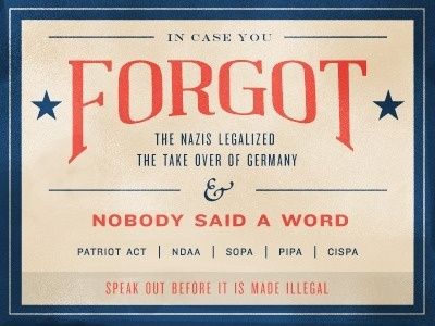 Dribbble - In Case You Forgot... by Benjamin Friesen #political #politics #classic #graphic #type #typography