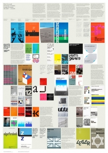 Design Museum Shop: Exhibition Products > Current Exhibitions > Wim Crouwel, A Graphic Odyssey > Blanka Wim Crouwel Poster #crouwel #wim