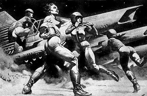 space+frazetta+battlestar+1978.jpg (500×327) #white #black #space #concept #frank #attack #art #and #frazetta