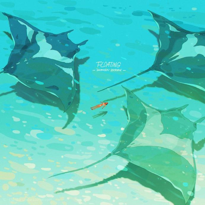 Floating, Xi Zhang