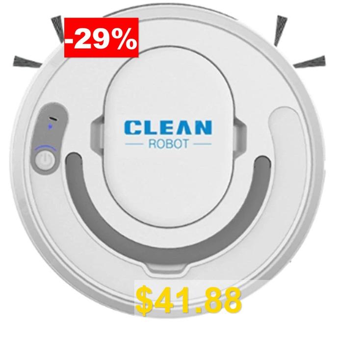 CLEAN #3-in-1 #Automatic #Robot #Vacuum #Cleaner #Floor #Cleaning #Vacuum #Cleaner