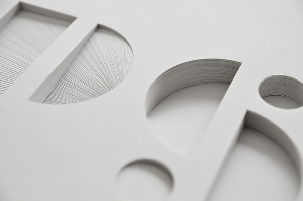 Bianca Chang // Works in Paper #paper #typography