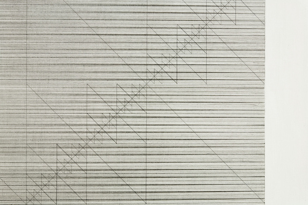 """detail: untitled 2011_04_01, lines """"y"""" 128 diagonals 