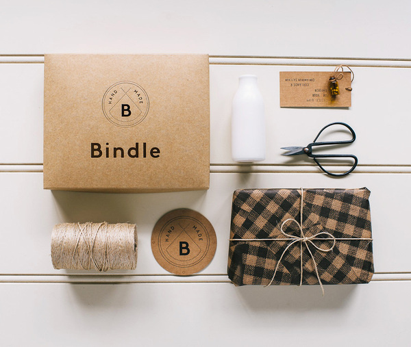 lovely package bindle 1 #packaging #identity #branding #typography