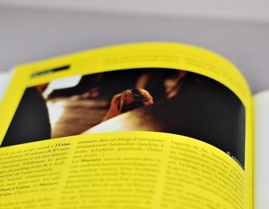 On the rocks magazine - graphicwand #graphicwand #rock #design #graphic #music #editorial #magazine