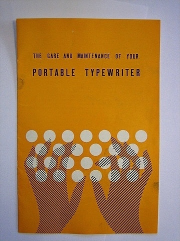 FFFFOUND! | typewriter manual | Flickr - Photo Sharing! #illustration #cover #manual #typewriter